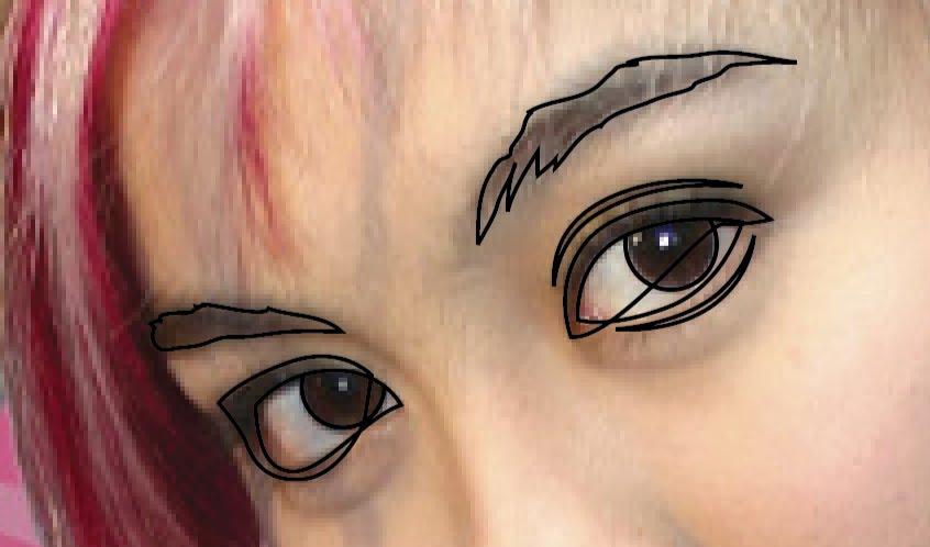 Gambar Vector Wajah di Illustrator   sabarudin91